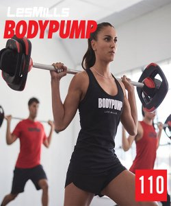 Les Mills BODY PUMP 110 VIDEO+MUSIC+NOTES
