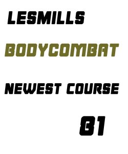 Les Mills BODY COMBAT 81 VIDEO+MUSIC+NOTES