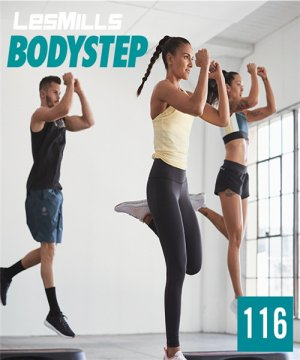 LESMILLS BODY STEP 116 VIDEO+MUSIC+NOTES