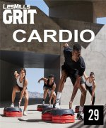 LESMILLS GRIT CARDIO 29 VIDEO+MUSIC+NOTES